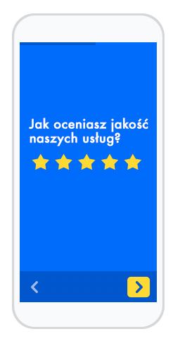 Skala Likerta - gwiazdki