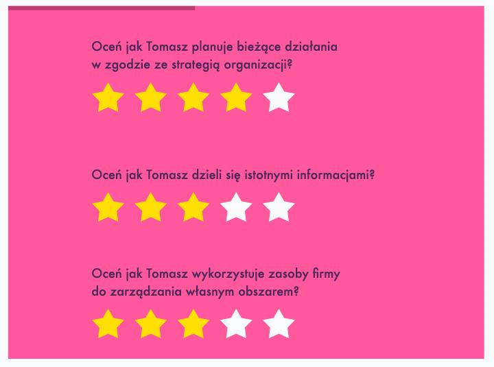 Ankieta oceny pracownika