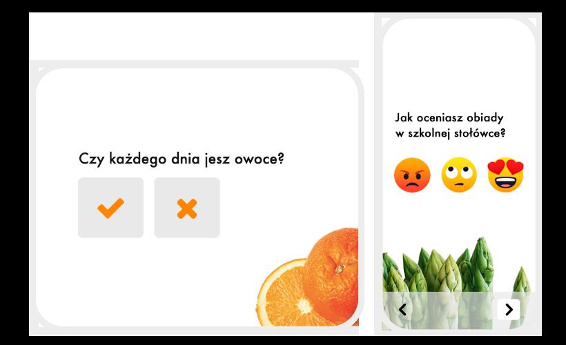 Ankieta o zdrowym odżywianiu - przykład