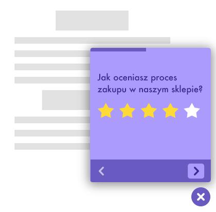 widget oceny strony www